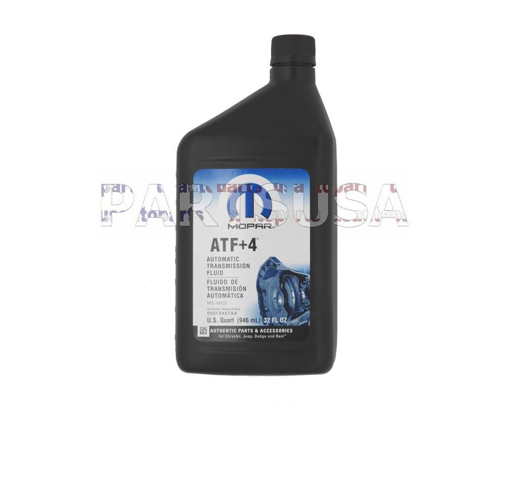 Olej automatycznej skrzyni biegów ATF4+ MOPAR