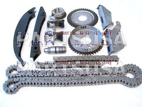 Rozrząd kompletny (łańcuchy rozrządu z kołami i napinaczem)