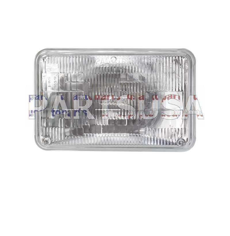 Żarówka zespolona świateł krótkich H4656 (sealed beam)