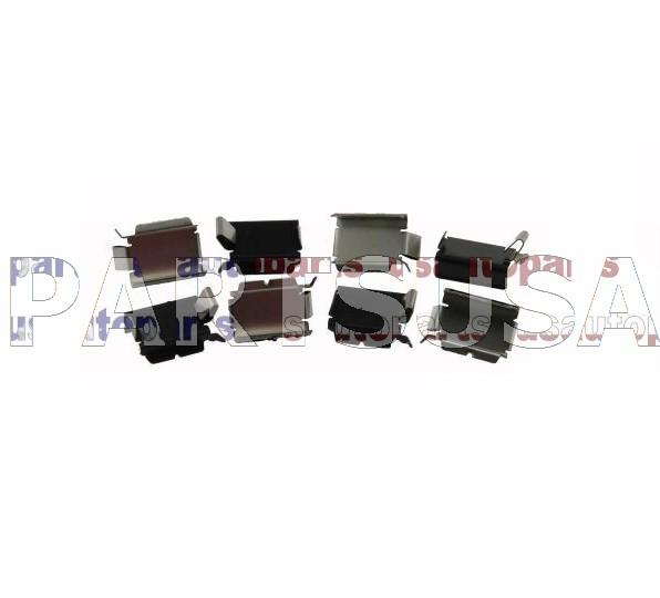 Zestaw montażowy klocków przednich