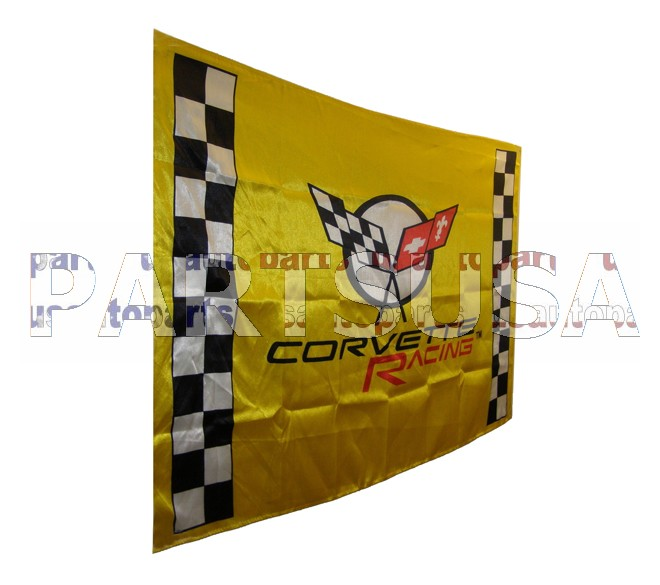 Flaga CORVETTE RACING