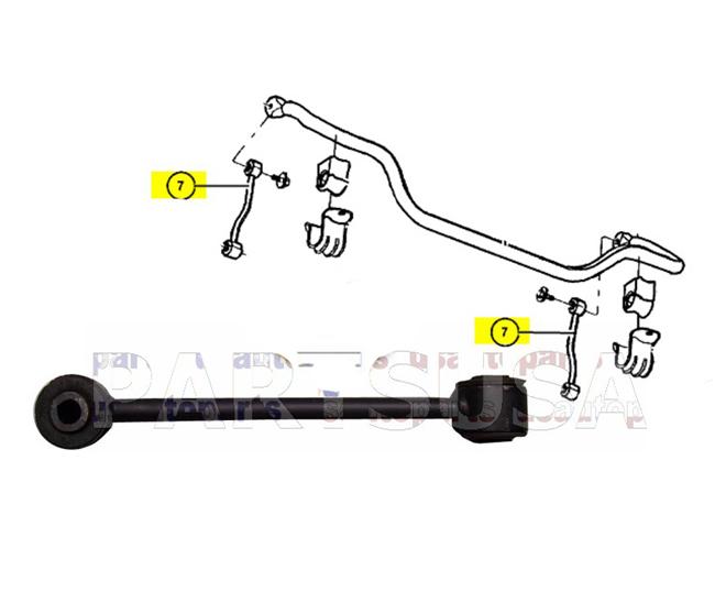 K80861P,,��cznik dr��ka stabilizatora przedniego