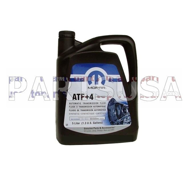 Olej automatycznej skrzyni biegów ATF+4 MOPAR 5L