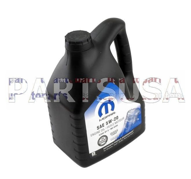 Olej silnikowy MOPAR 5W-20 / 5W20 5L