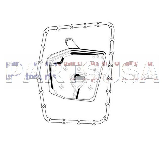 B232,,Filtr automatycznej skrzyni bieg�w z uszczelk�