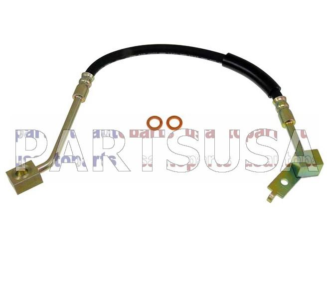 H380579,,Przew�d hamulcowy elastyczny przedni lewy