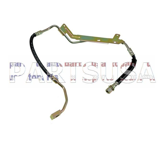 BH381057,,Przew�d hamulcowy elastyczny przedni lewy