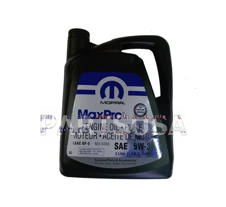 Olej silnikowy 5W30 / 5W-30 MOPAR 5L.