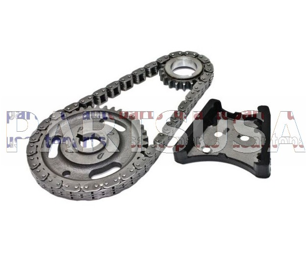 Rozrząd kompletny (łańcuch rozrządu z kołami i ślizgiem)