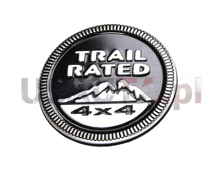 Emblemat JEEP TRAIL RATED 4x4