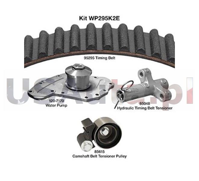 Rozrząd kompletny (pasek rozrządu, rolka, napinacz hydrauliczny i pompa wody)