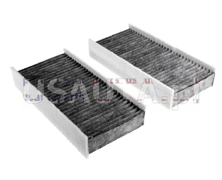 Filtr kabinowy z węglem aktywnym (pyłkowy, 2 szt.)