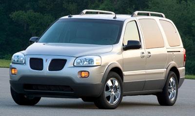 Pontiac Montana SV6 2005-2009