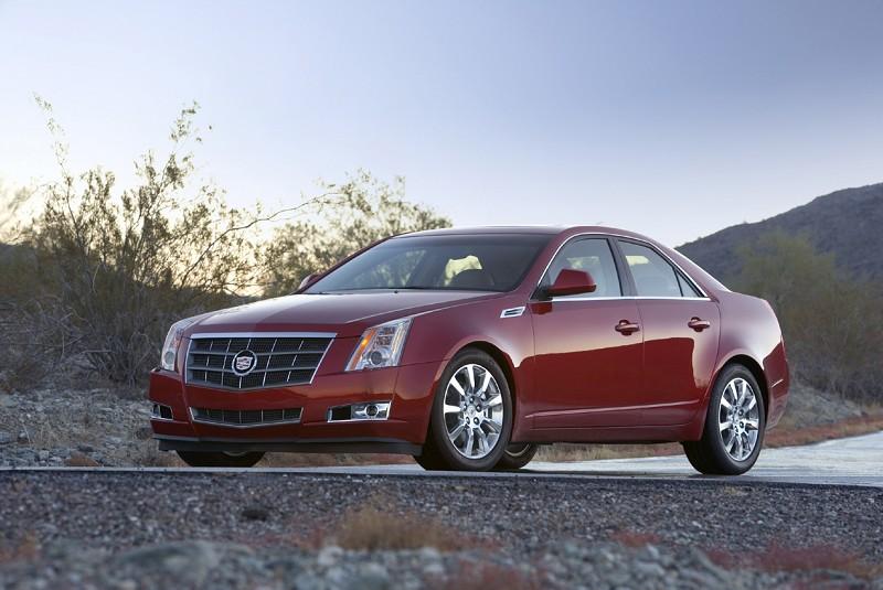 Cadillac CTS 2008-2012