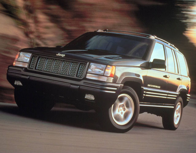 Jeep Grand Cherokee 1993-1998 ZJ, ZG