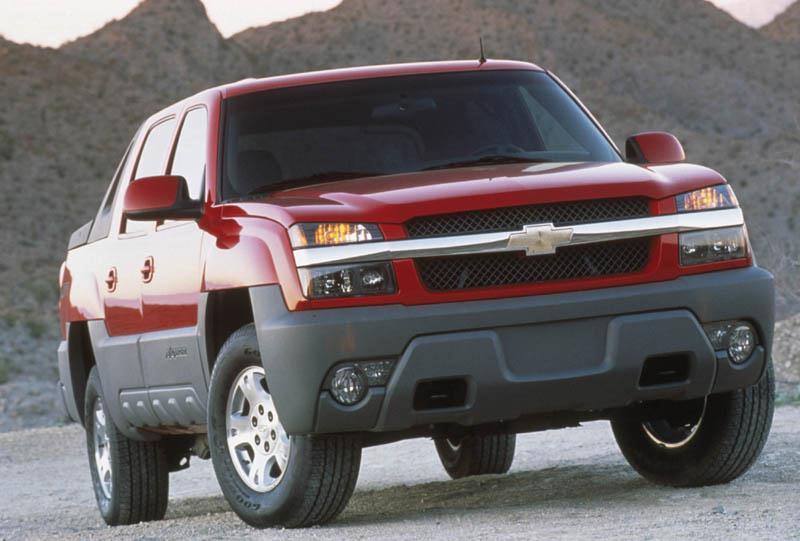 Chevrolet Avalanche 1500 / 2500 2002-2006