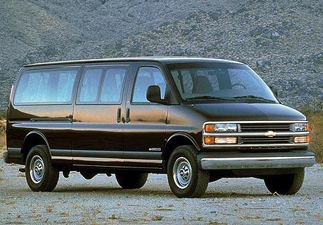 Chevrolet Express 1996-2002